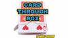 Card Through Box by Mario Tarasini