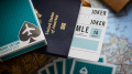 Jetsetter (Lounge Edition in Terminal Teal) Playing Cards
