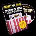 Sleight Of Hand Secrets With Cards by Jay Sankey