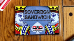 Sovereign Sandwich (Red) by David Jonathan