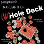 The (W)Hole Deck (Red) by Marc Arthur and Kozmomagic